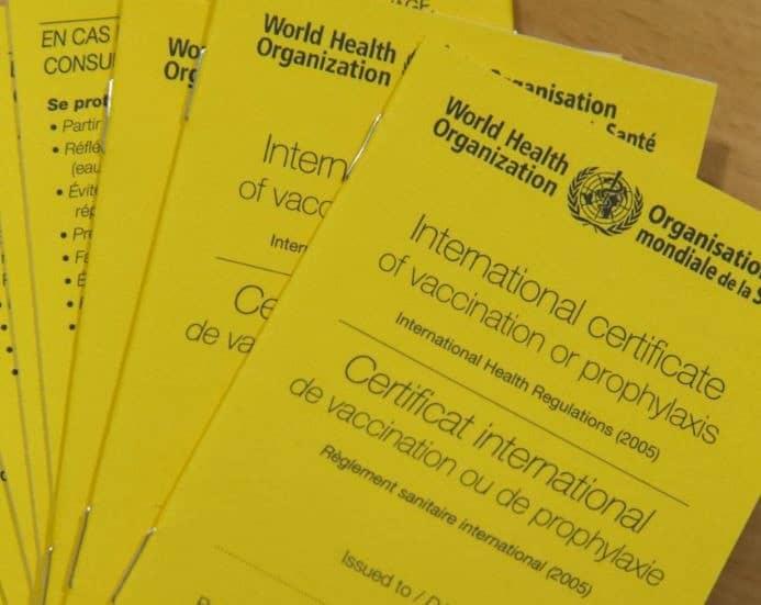 certificat vaccin fièvre jaune