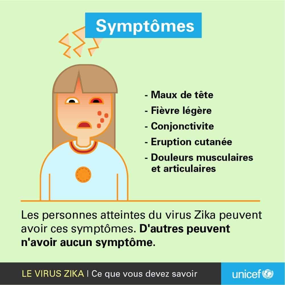 symptomes zika