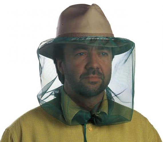 chapeau anti moustique