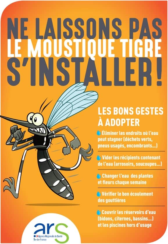 Installation moustique tigre en france