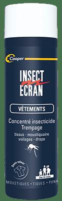 insecticide vêtements