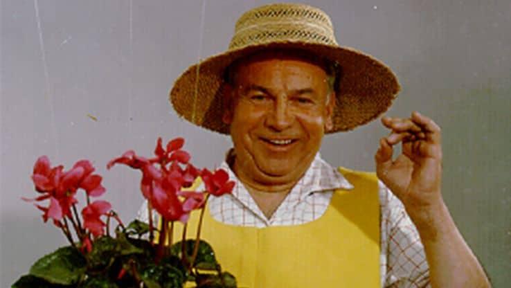 Visuel de la publicité télévisuelle du jardinier Compo